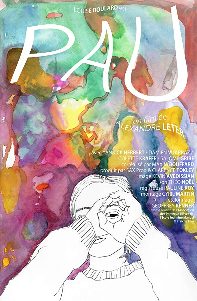 "The poster for ""Pau"" was designed by Sarina Hahn '21 and Vincent Warne '18."