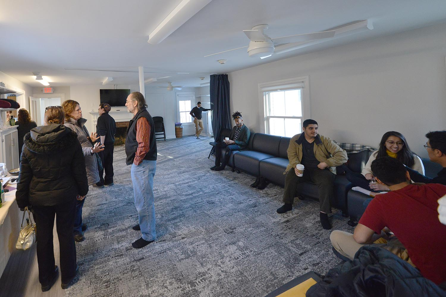 The Office of Religious and Spiritual Life hosted an open house on Feb. 14 to celebrate a partial renovation and the creation of a multi faith lounge.