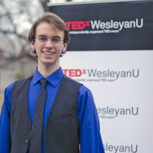 "Dylan Shumway '20 will share his talk titled, ""Small Moments"" during the April 27 conference."