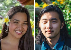 Momi Afelin '19 (aafelin) and Justin Kim '19 .  (wkim). Thomas J. Watson Fellows.