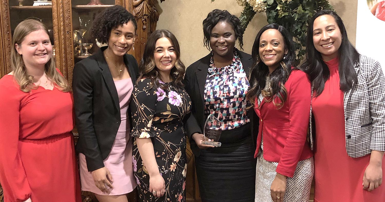 Molly Hurtado (3rd from left) is the Executive Director of ABC. Christina Bennett (2nd from right) was the banquet Keynote Speaker. Image 5
