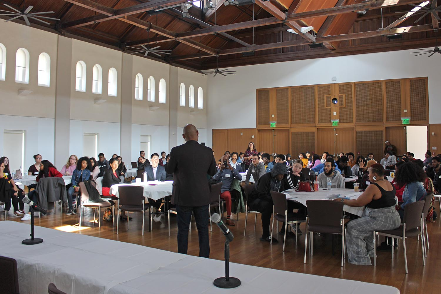 "The Office of Equity and Inclusion hosted the second annual Pathways to Inclusive Equity (PIE) Conference March 30 in Beckham Hall. This conference focused on the topic of ""Navigating Your Journey through Research."""