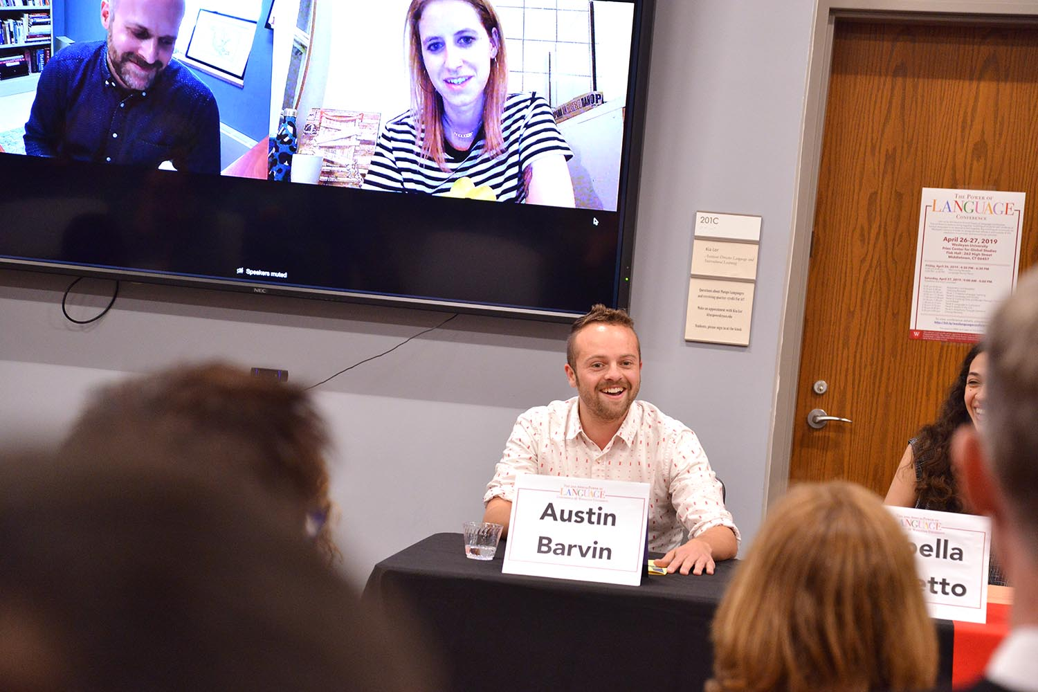 "Austin Barvin '15 has a master's degree in Russian and International Affairs from Georgetown University. He now works for the U.S. Government Accountability Office. ""To help me learn, I watched Harry Potter in Russian; I listed to Russian indie-rock. It's important to make the learning interesting,"" he said."
