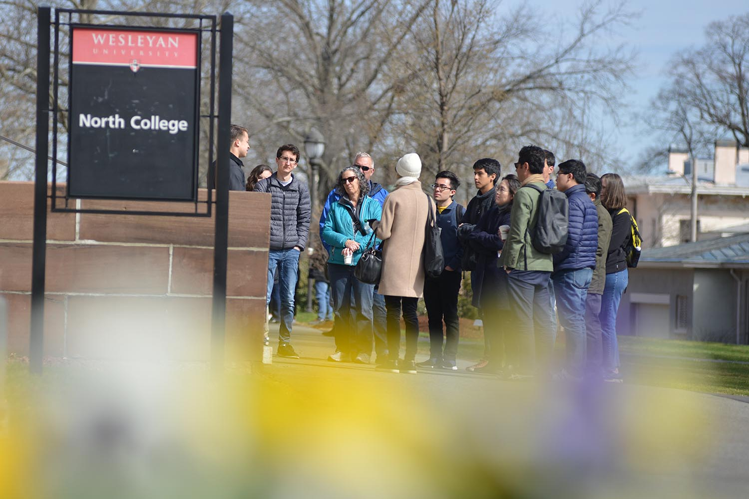 Students led campus tours throughout WesFest.
