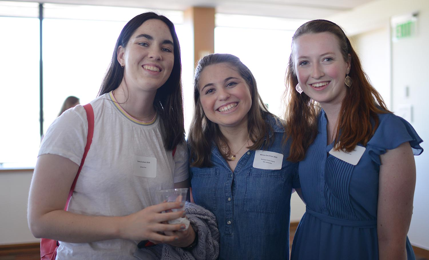 Emma Graham '19 received the Spinney Prize for excellence in Greek. Miriam Zenilman '20 won an Olin Fellowship and the Wesleyan Fiction Award. Sara McCrea '21 won an Olin Fellowship.