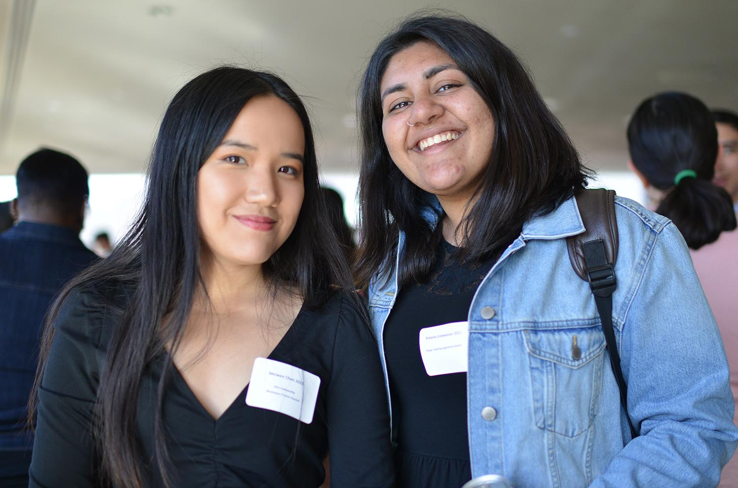 Meiwen Chen '21 won a Wesleyan Fiction Award and an Olin Fellowship. Preksha Sreewastav '21 received a Plukas Teaching Apprentice Award for excellent service to the Economics Department as a teaching apprentice.