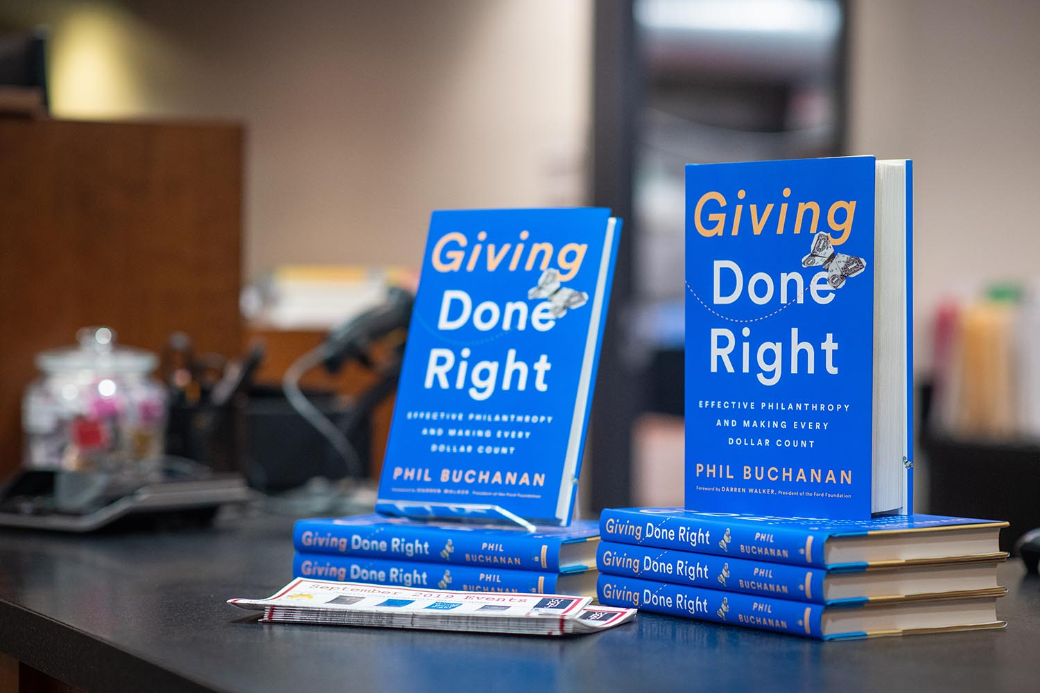 "In 2016, Buchanan was named the Nonprofit Times ""influencer of the year."" His new book presents a practical guide for the individual who wants to give $1 to the corporation that wants to give $1 million, that answers the question, ""How do I channel my giving effectively to make the greatest difference?"""