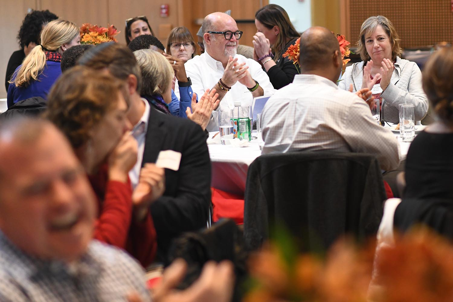 On Nov. 18, the Office of Human Resources hosted its annual Staff Recognition Luncheon in Beckham Hall.