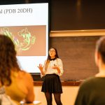 Karimi Shares Enzyme Research during Graduate Speaker Series
