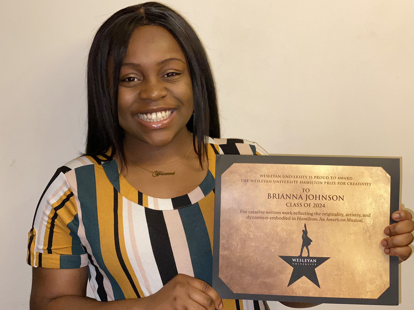 HamPrize2020_Winner_Brianna Johnson