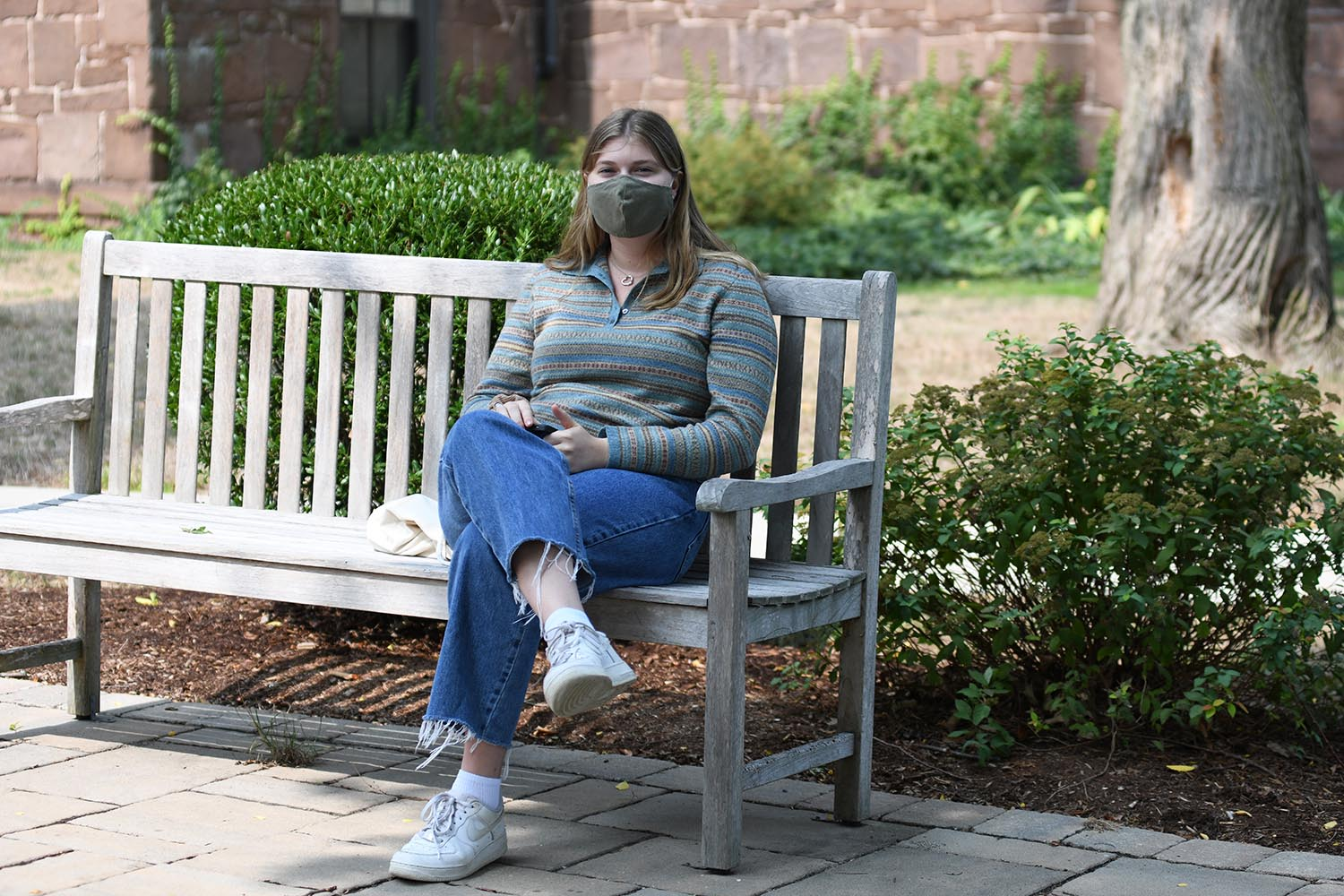 Students are required to wear masks in all public spaces.