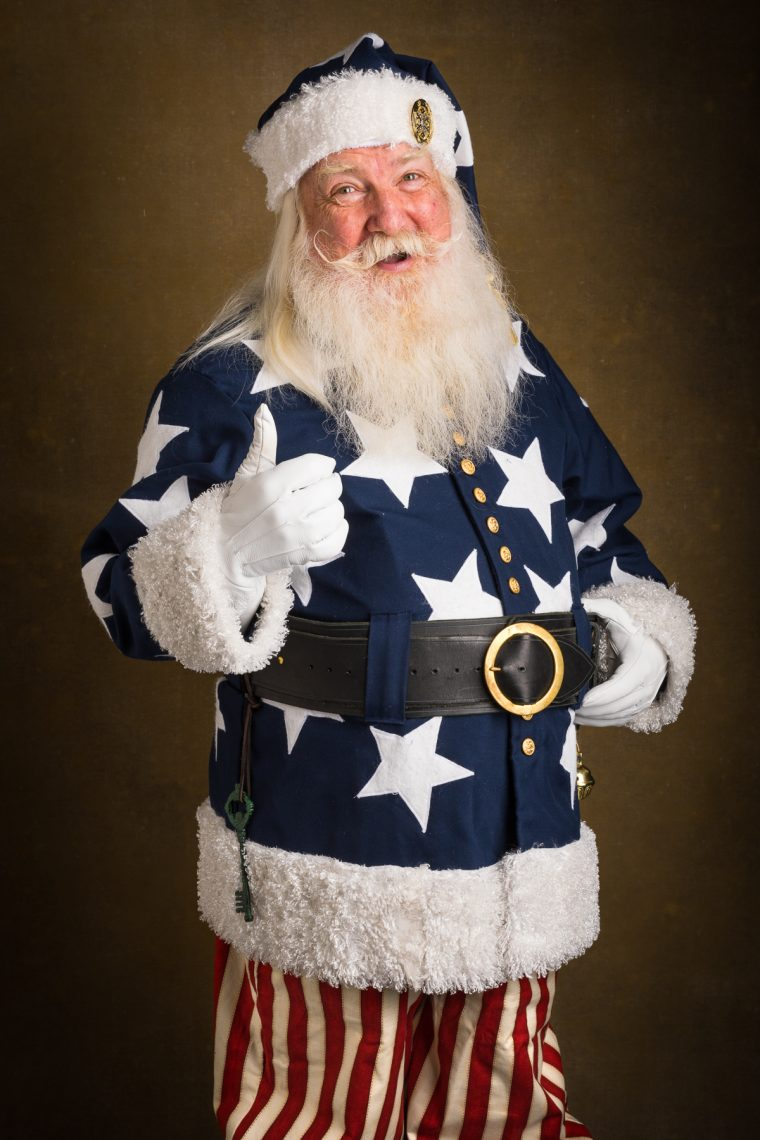 While all the professional Santas photographed by Cooper embody the character in ways that honor important characteristics like kindness, charity, and inclusiveness, Cooper noted many added creative flairs to their suits that reflect regional, historical, ethnic, and other differences.