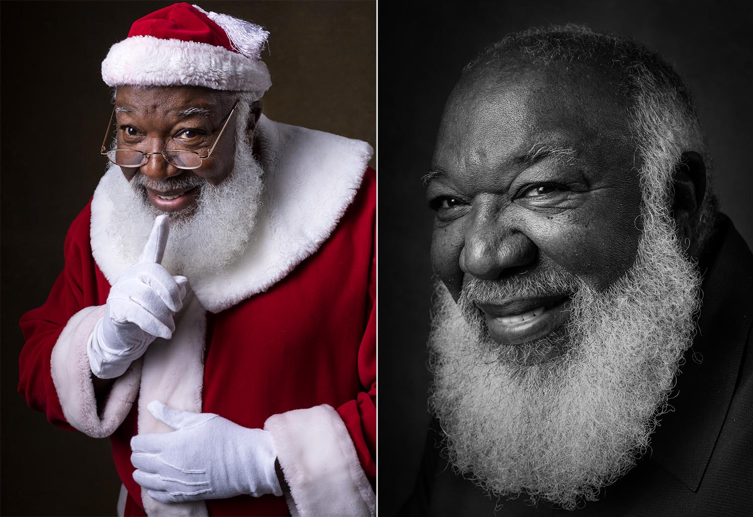 "James Nuckles, from Atlanta, Ga. is one of the relatively few African-American Santas, according to Cooper. Nuckles told Cooper that both white and Black children have asserted that he's not the real Santa Claus because he's not white. Nuckles responds by asking them, ""What color is Santa? How do you know?"" He usually tells these naysayers about the historical Saint Nicholas, who is often depicted as dark-skinned."