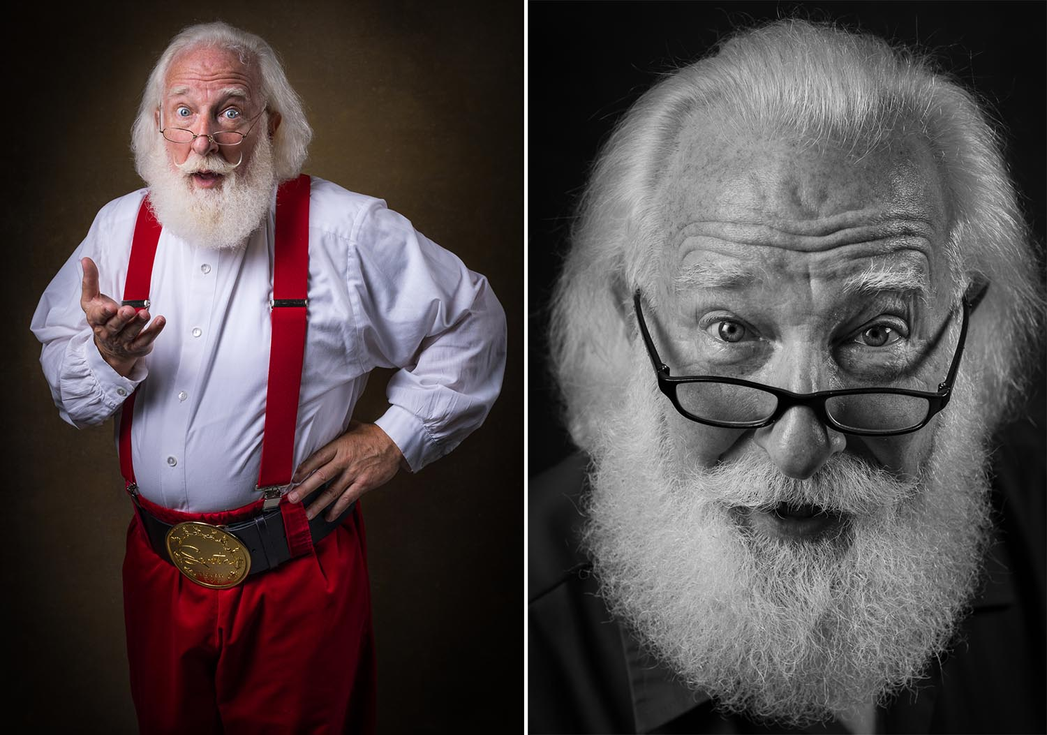 "Cooper notes that many of the men portraying Santa are not outwardly religious or even Christian. Rick Rosenthal of Atlanta, Georgia is an Orthodox Jew who has been a professional Santa for many years. His rabbi calls him Santa Rick ""Frozenthal."""