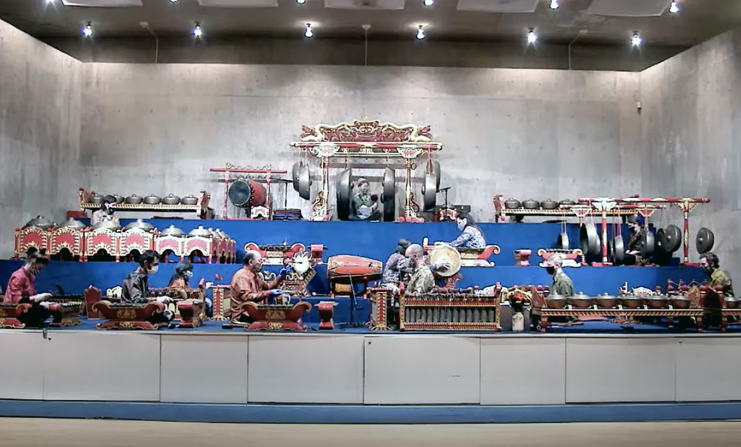 On Nov. 23, the Wesleyan Gamelan Ensemble performed classical music of Central Java, a number of repertoires from two gamelan styles, Surakarta and Yogyakarta.