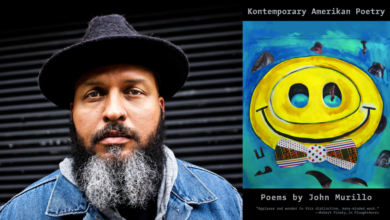 """Poet John Murillo is the 2021 recipient of the Kingsley Tufts Award for his collection """"Kontemporary Amerikan Poetry."""" (Photo courtesy of Four Ways Books)"""