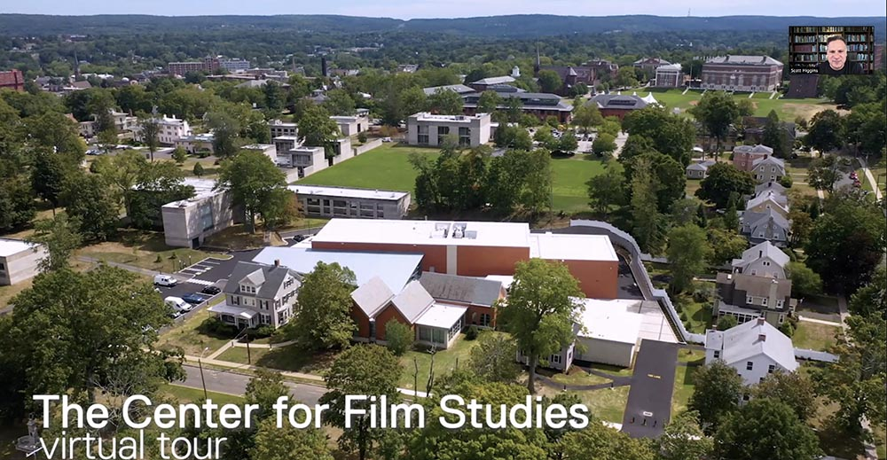 12-1pm Virtual Tour: College of Film and the Moving Image Join CFILM staff for a live tour