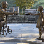 FDR Memorial by Bergmann '76 Is a Tribute to Overcoming Physical Barriers