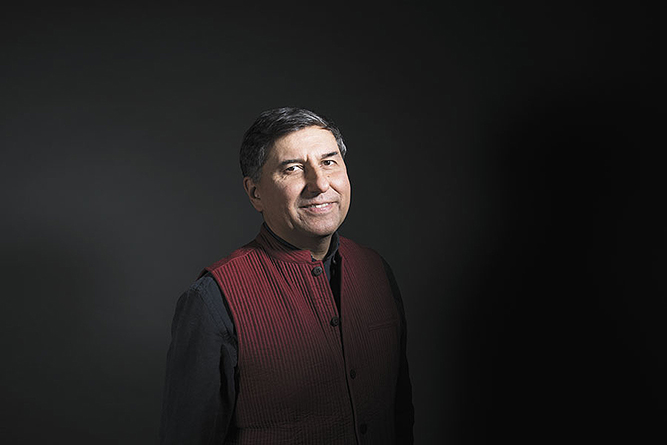 William Bissell '88, managing director of Fabinda, the ethnic goods importing company begun by his father (photo by Amit Verna in Fortune India)