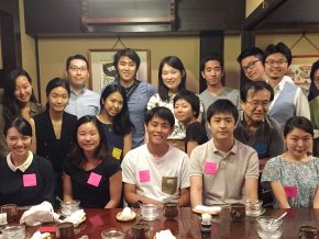 Shogo Maeda '79 and Kotaro Aoki '16 hosted a Summer Sendoff in Tokyo, Japan.