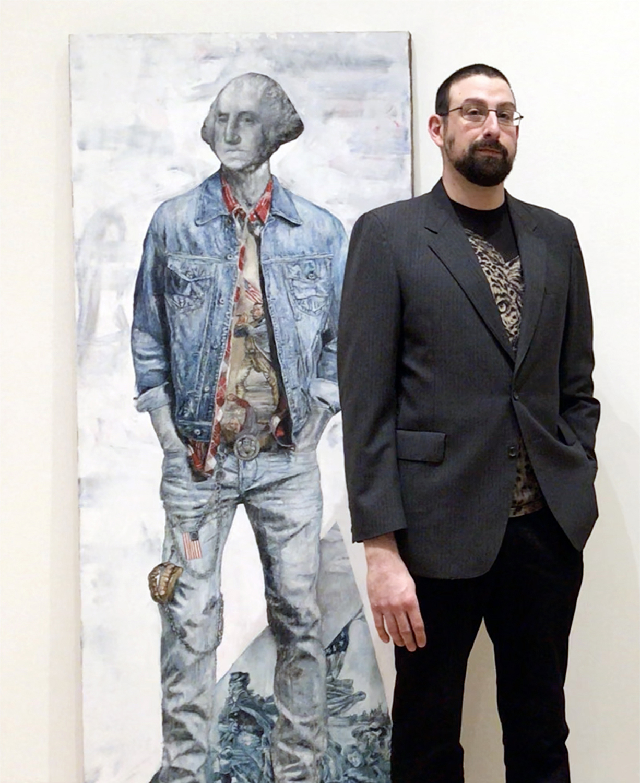 portrait of George Washington by Jac Lahav '00
