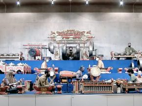 On Nov. 19, students from the Javanese Gamelan Ensemble presented their work-in-progress, a number of compositions in different tuning systems, and formal musical structures.